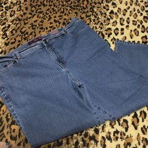 X Short Stretch Jeans 22 W